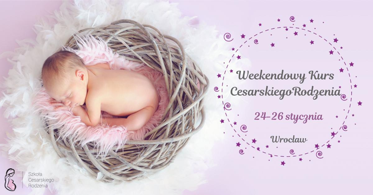 Weekendowy Kurs Cesarskiego Rodzenia już w styczniu!
